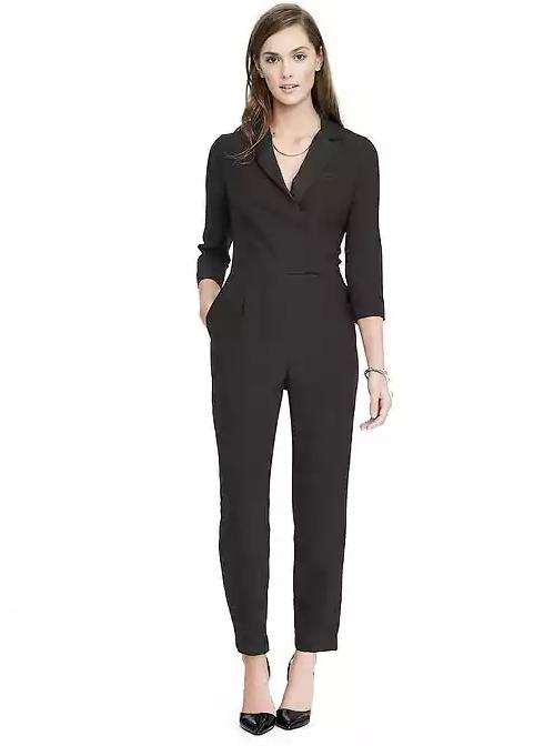 Emily Essentially | Fashion | Banana Republic - Tuxedo Jumpsuit