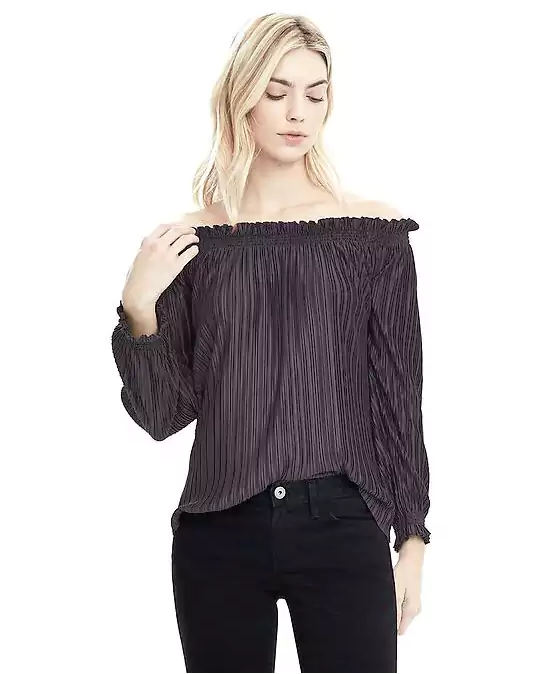 Emily Essentially | Fashion | Banana Republic - Ruffle Off-The-Shoulder Top