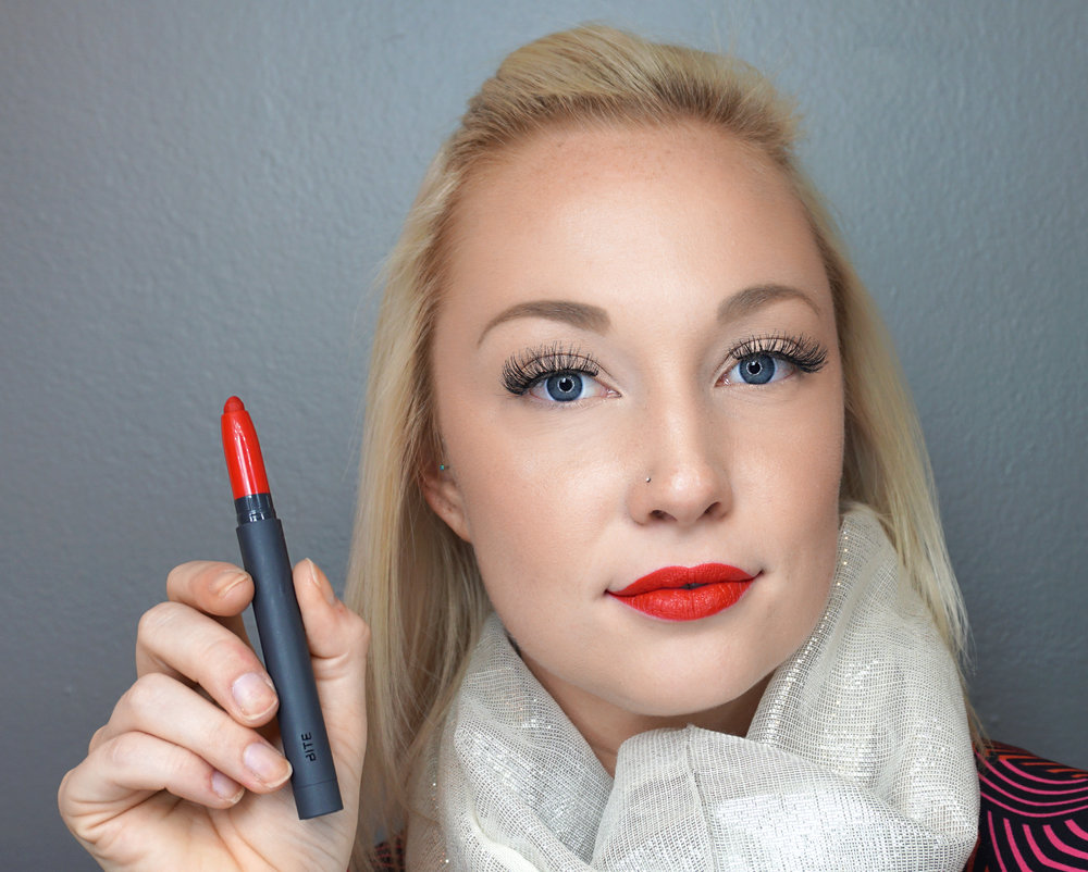 Emily Essentially | Beauty | Best Holiday Red Lippies - BITE - Rose Hip