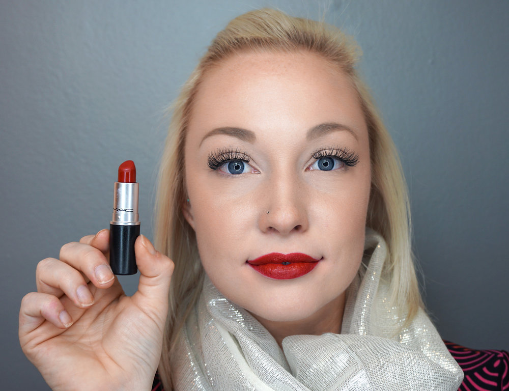 Emily Essentially | Beauty | Best Holiday Red Lippies - MAC - Russian Red
