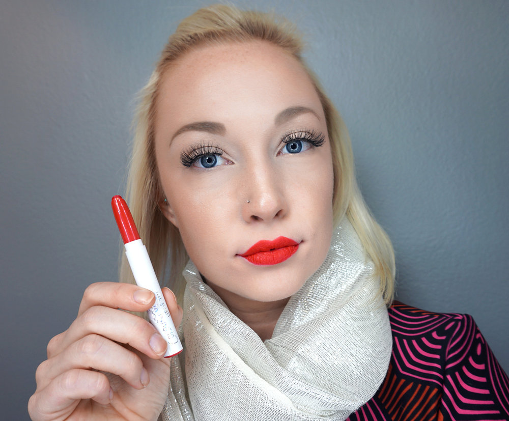 Emily Essentially | Beauty | Best Holiday Red Lippies - COLOURPOP - Frenchie
