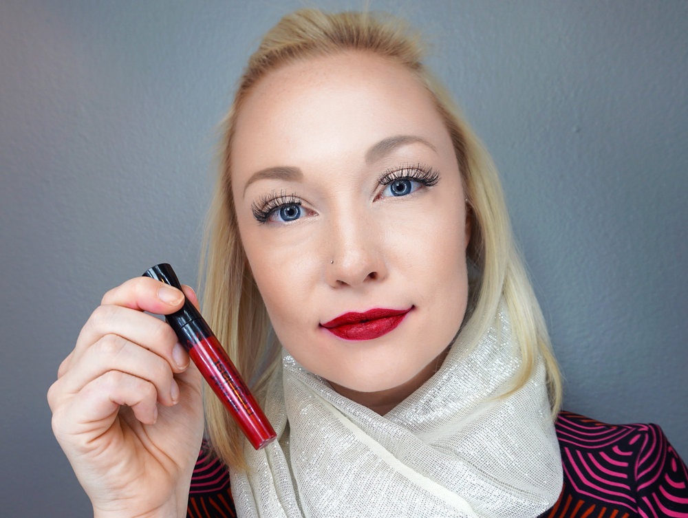 Emily Essentially | Beauty | Best Holiday Red Lippies - WET N WILD - Red My Mind