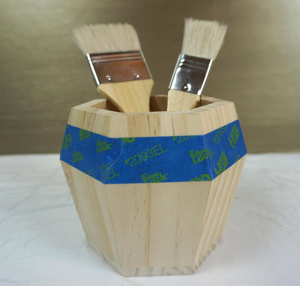 Emily Essentially | DIY | Budget-Friendly Glam Box Makeover Step 1