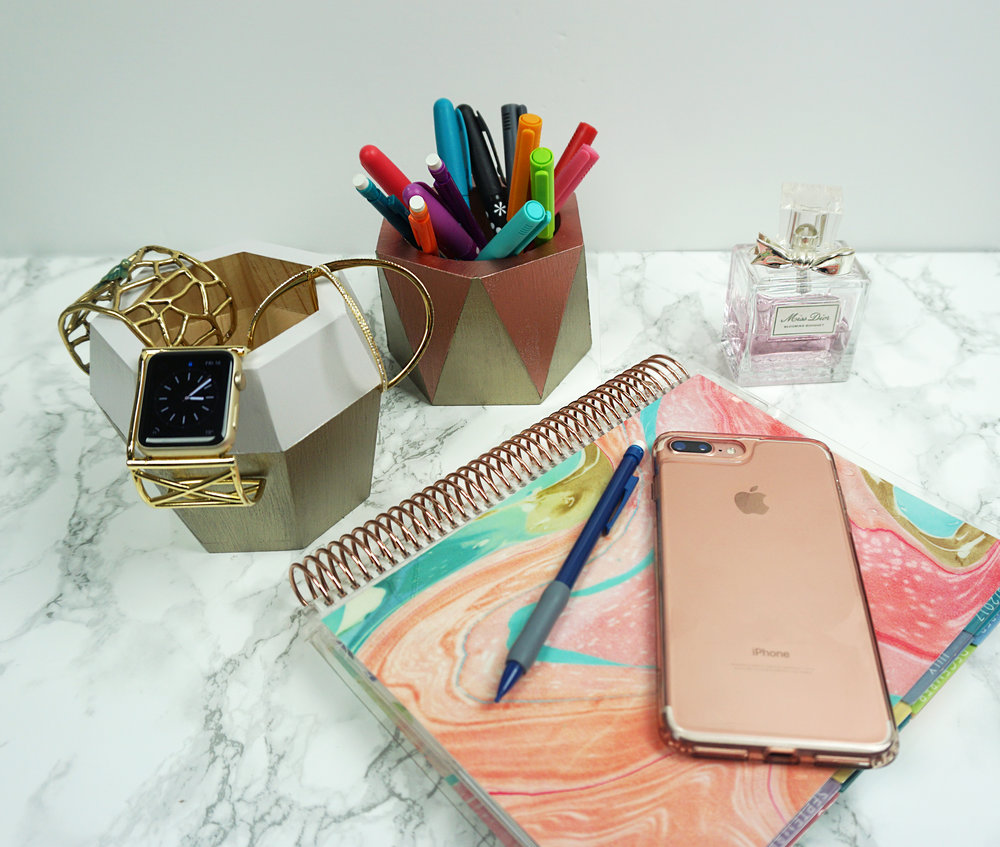 Emily Essentially | DIY | Budget-Friendly Glam Box Makeover Everyday