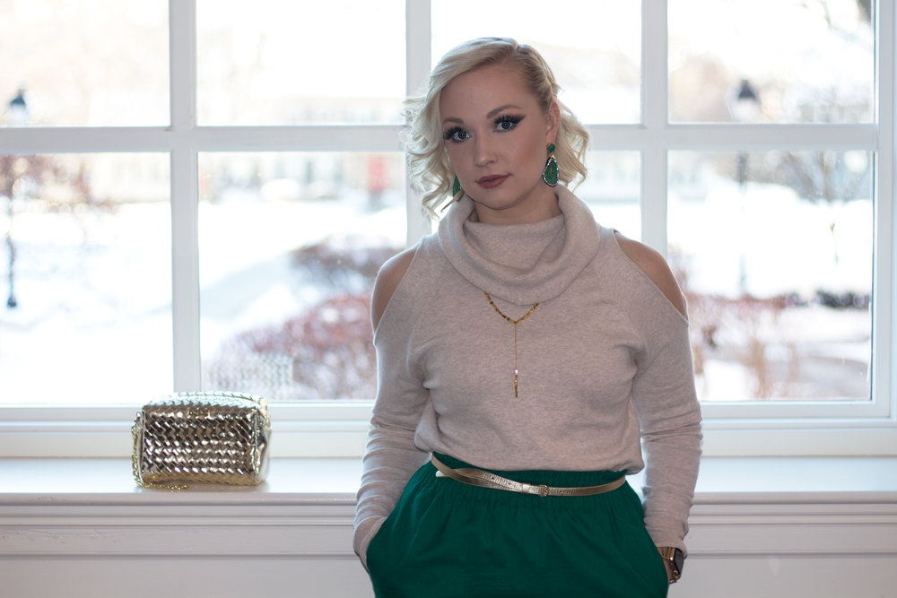Emily Essentially | Fashion | Subtly Chic Holiday Glam