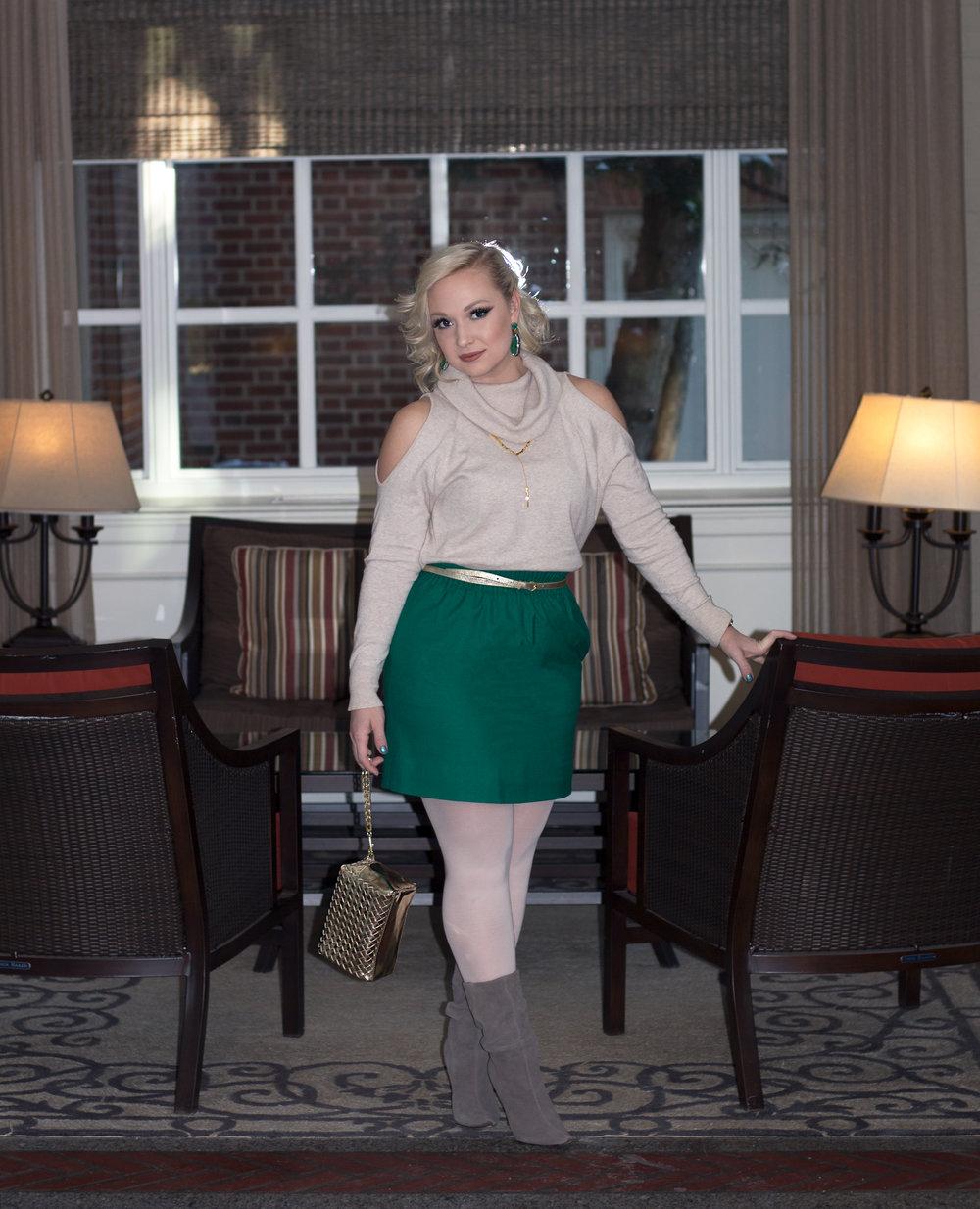Emily Essentially | Fashion | Subtly Chic Holiday Glam