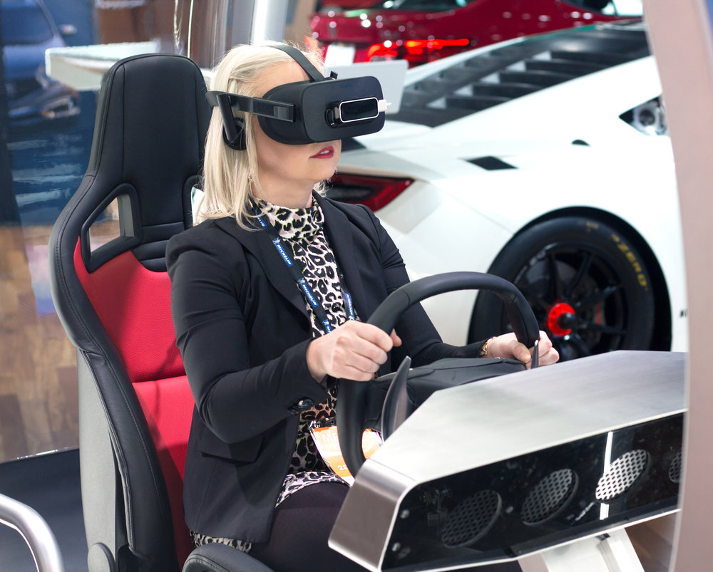 Emily Essentially | Lifestyle | NAIAS 2017 VR Interactive Displays
