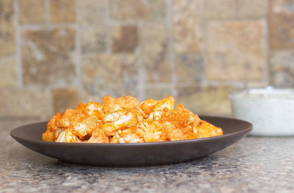 Emily Essentially | Lifestyle | Buffalo Cauliflower + Keto Ranch