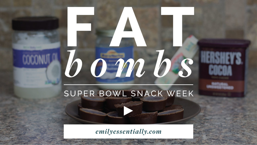 Fat Bombs | Super Bowl Snack Week | Emily Essentially
