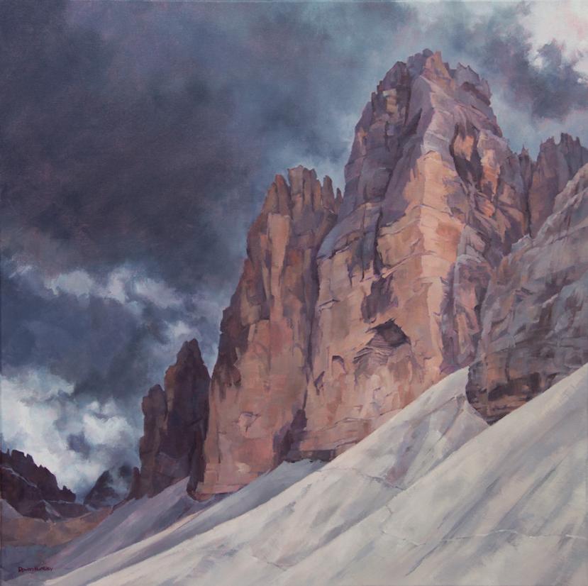 North Face of Cima Ovest, Tre Cime di Lavaredo.©Rowan Huntley