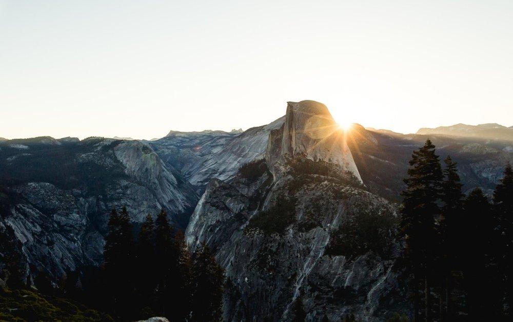 Half Dome, Yosemite Valley.