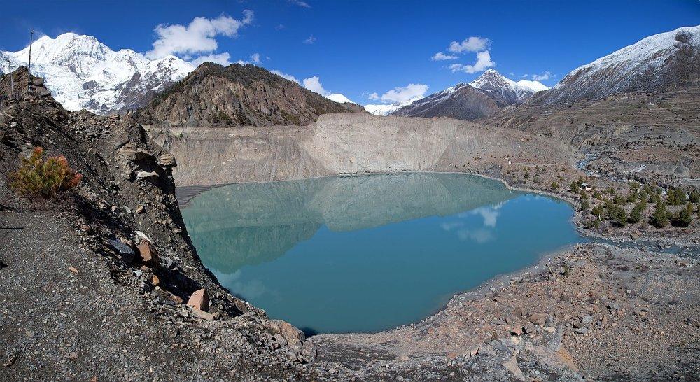 Annapurna Glacial Lake