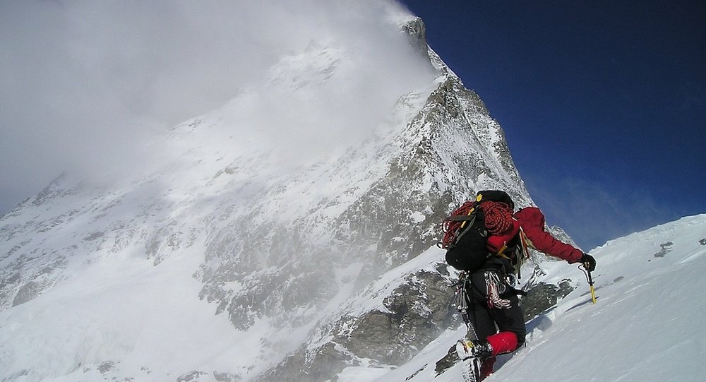 Mountaineering on the  Matterhorn