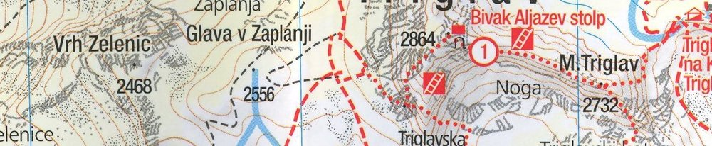 Triglav Map
