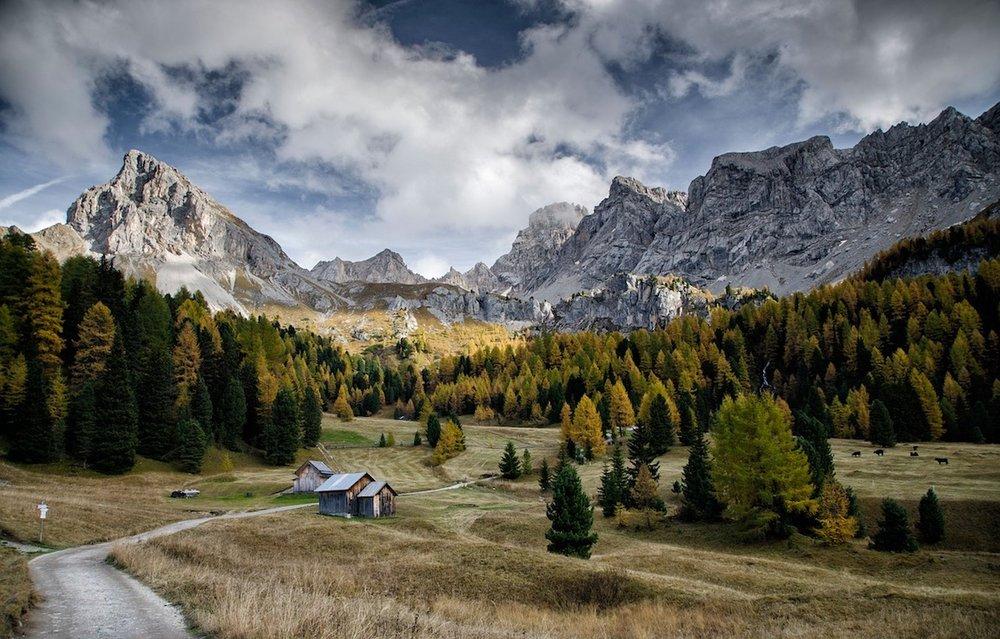 Val di Fassa, Dolomites.