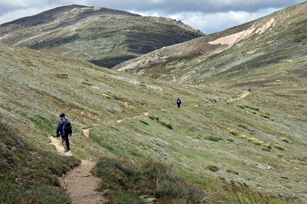Path to Mount Kosciuszko
