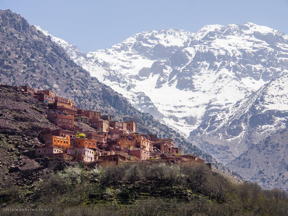 Berber Village & Mount Toubkal, Morocco