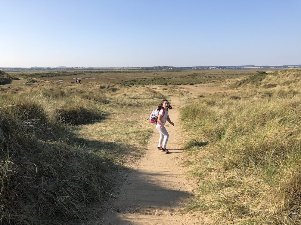 walking hiking norfolk coast path.JPG