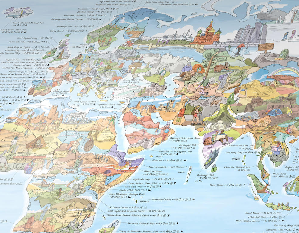 world hiking walking wall maps.jpg