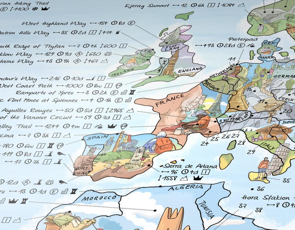 europe walkign hiking wall map.jpg