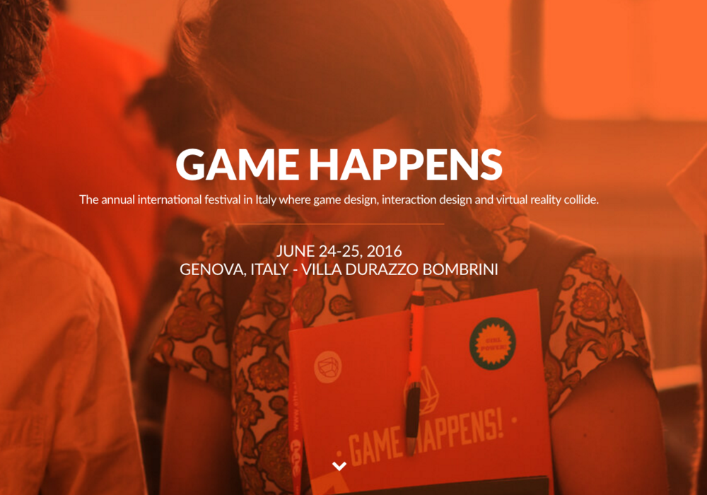 GAME HAPPENS 2016