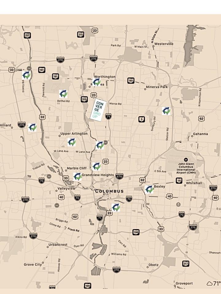 locations we've begun establishing a new church       locations we hope to establish a new church