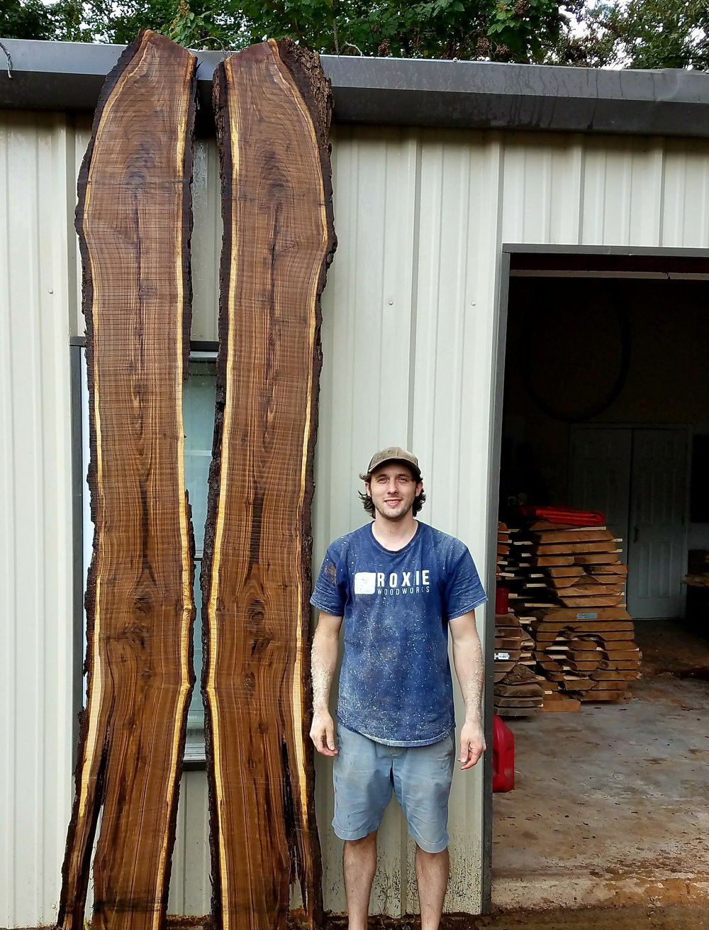 John with Walnut Slabs.jpg