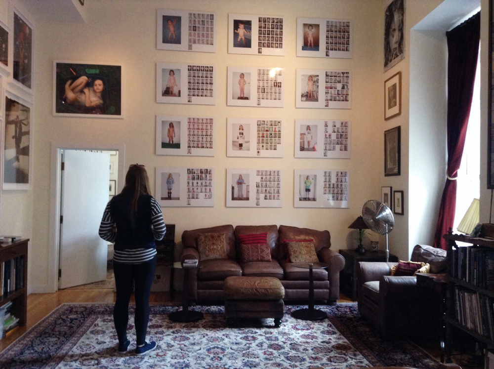 Collector Joe Baio's personal installation, October 2015