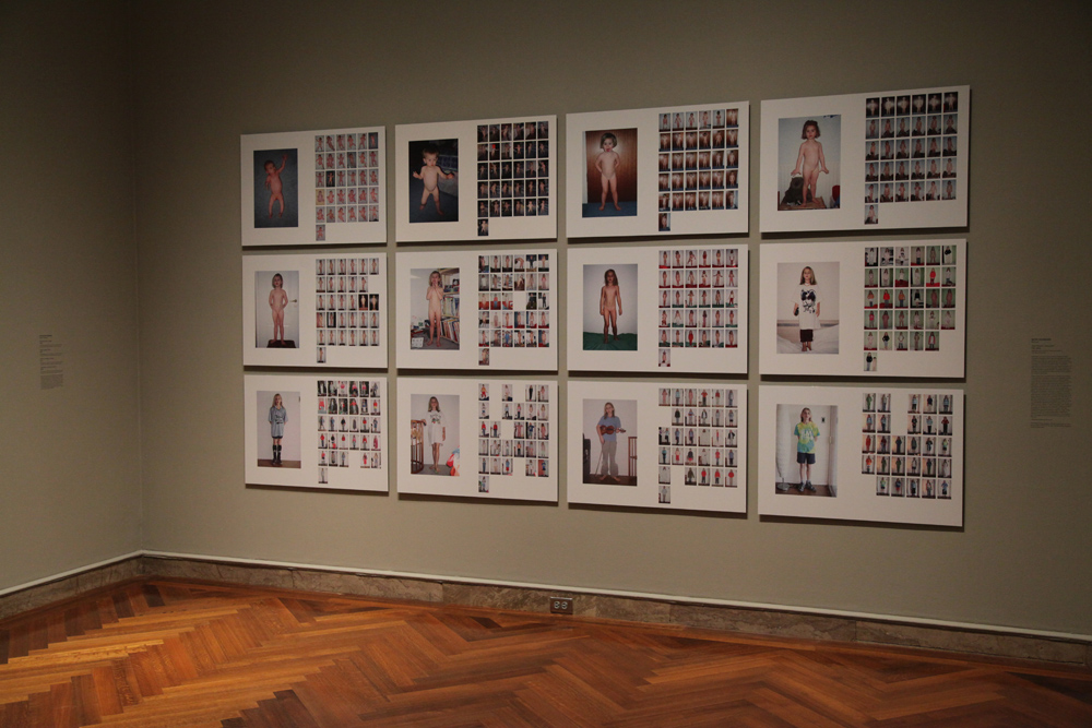 """January: 1998-2009"" Installation Shot"
