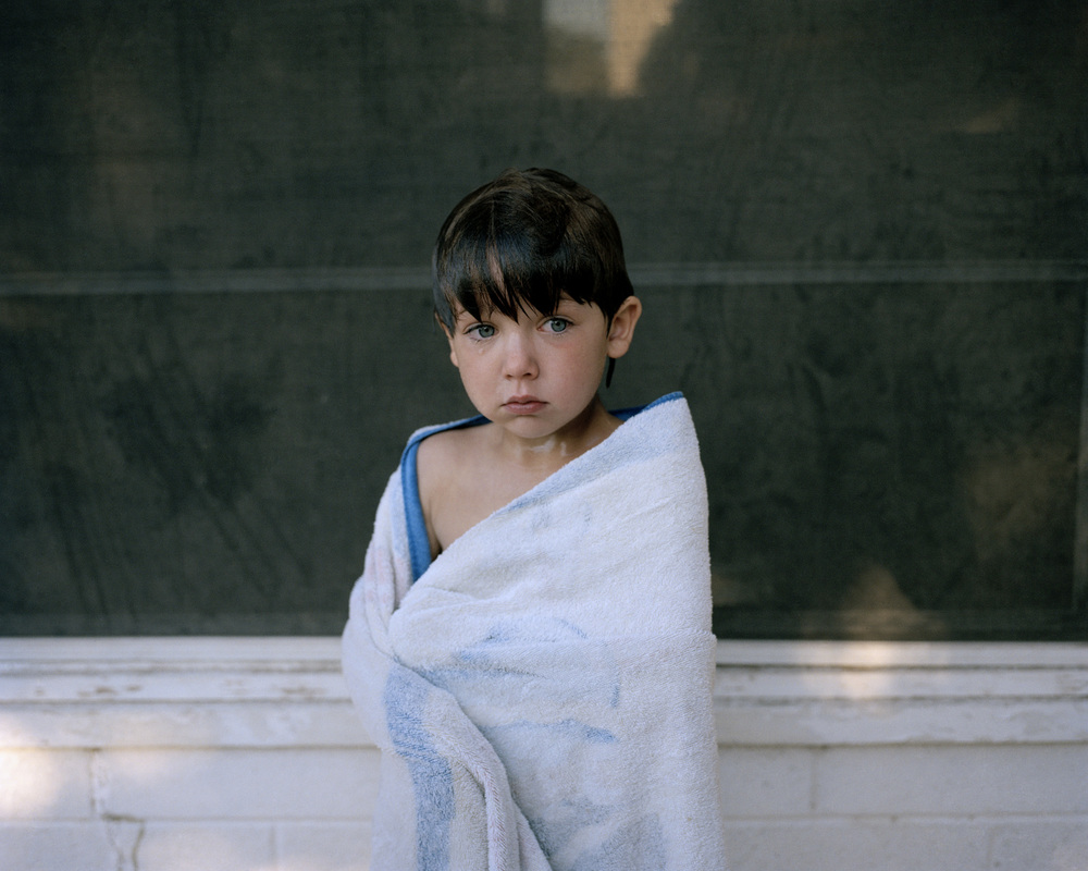 Blue Towel, 2008