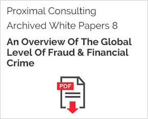 Archived White Paper  8: An Overview Of The Global Level Of Fraud & Financial Crime
