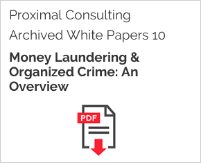 Archived White Paper  10: Money Laundering & Organized Crime: An Overview