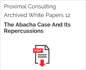 Archived White Paper  12: The Abacha Case And Its Repercussions