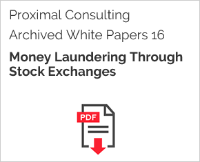 Archived White Paper  16: Money Laundering Through Stock Exchanges