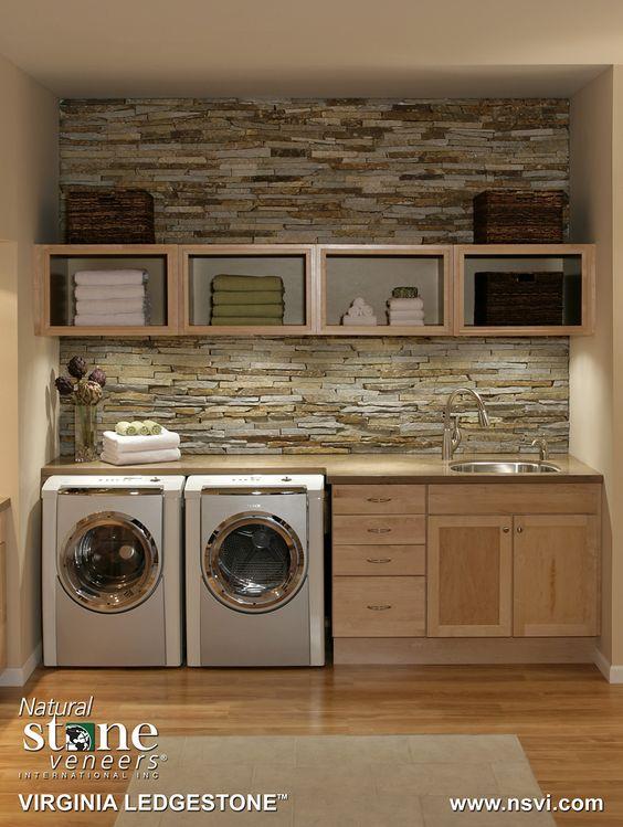 Stone Veneer Laundry