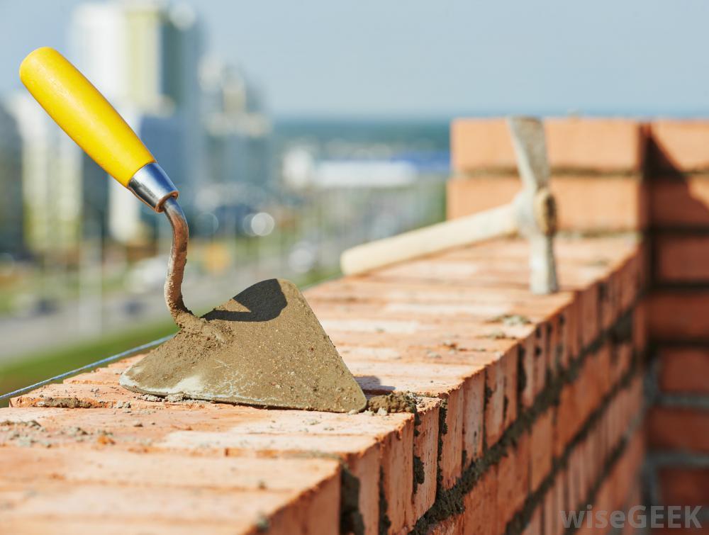 Trowel for brick repair - Source:  wisegeek.com