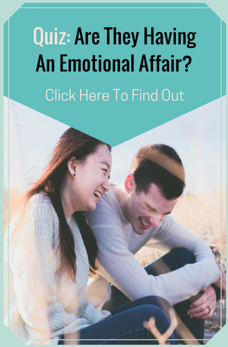 Is It An Emotional Affair?