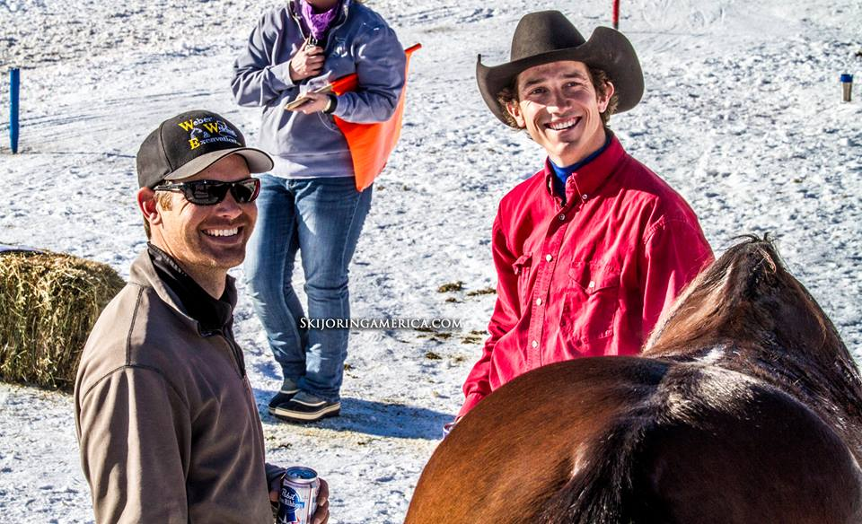 Congratulations to Richard Weber, Flyboy, and Tyler Smedsrud for winning the 2018 Skijoring Open overall