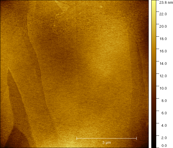 7.5 x 7.5 um scan of HOPG