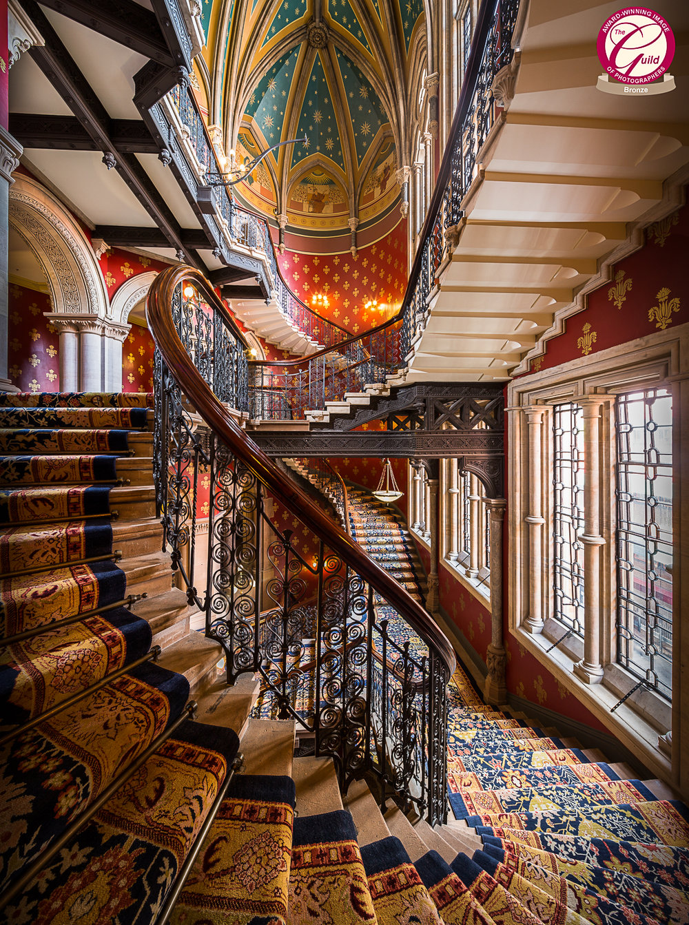 Grand Staircase, Renaissance Kings Cross, London
