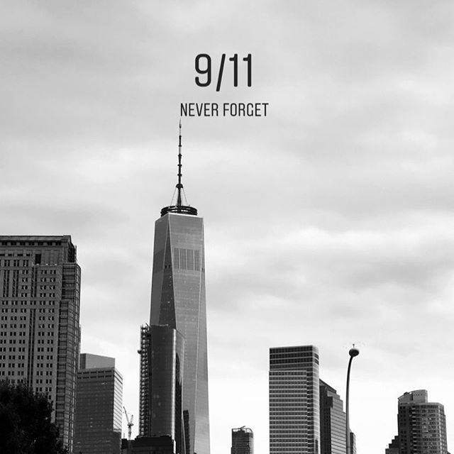 🇺🇸 Forever and Always!  September 11th 2001 ___________________________________  Remember why we are here and what is worth fighting for. I was walking with my girls down here just a few weeks ago, and there is something so powerful and humble at the same time around that part of the skyline. I felt my heart beating and I got such a strong feeling of enormous gratitude for being here. 🇺🇸 With love and admiration to those who sacrificed on that cold cloudless brisk morning of September 11th 2001 🙏🏽 Forever Thankful! __________________________________  #neverforget #september11 #newyork #resilience #love #faith #magic #light #comingtogether #forgiveness #hope  #Unity | Remember how strong we are when we come together ✨💫🇺🇸
