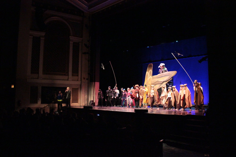 The 2016 Community Play,   The Lion King, Jr.  , raised $2,000 and 1,000lbs of food for the Frederick County Foodbank program.