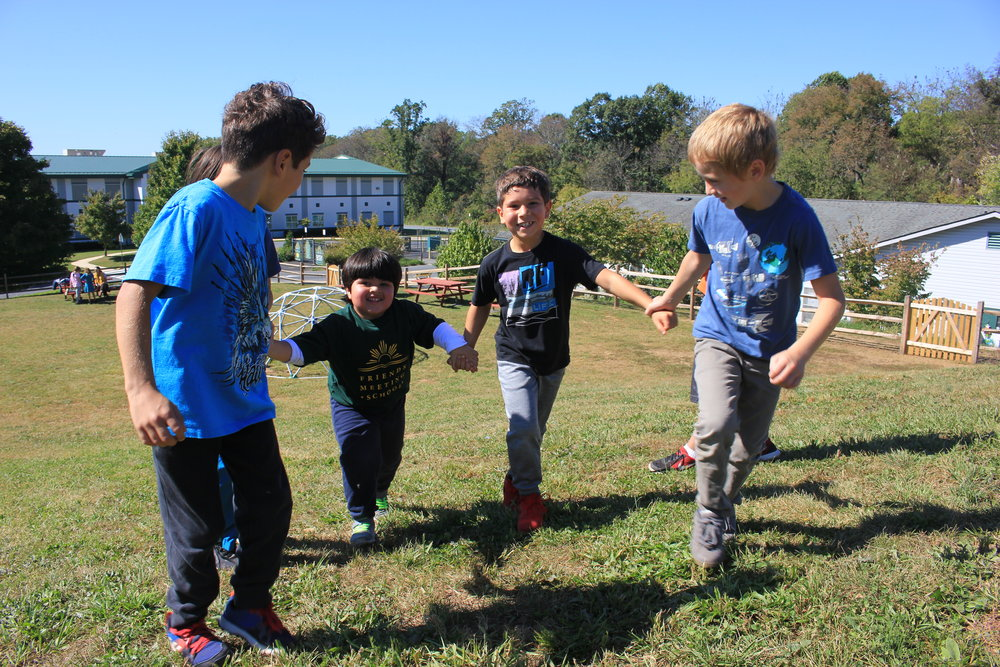 Lower School (K-4) - Our youngest years are full of joyful exploration, with outdoor learning and interest-based lessons guiding the way.