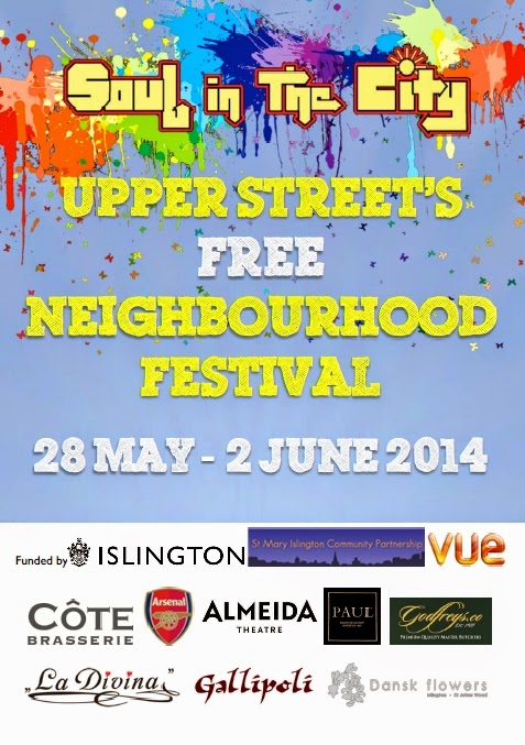 Upper Street's Neighbourhood Festival 28 May - 2 June 2014