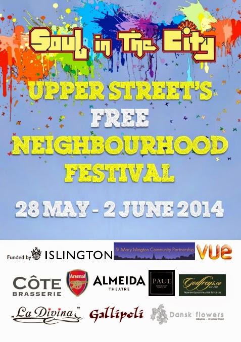 Upper Street's Neighbourhood Festival 28 May - 2 June 2014