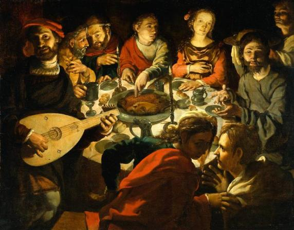 The Marriage Feast at Cana by Jan Vermeyen 1530
