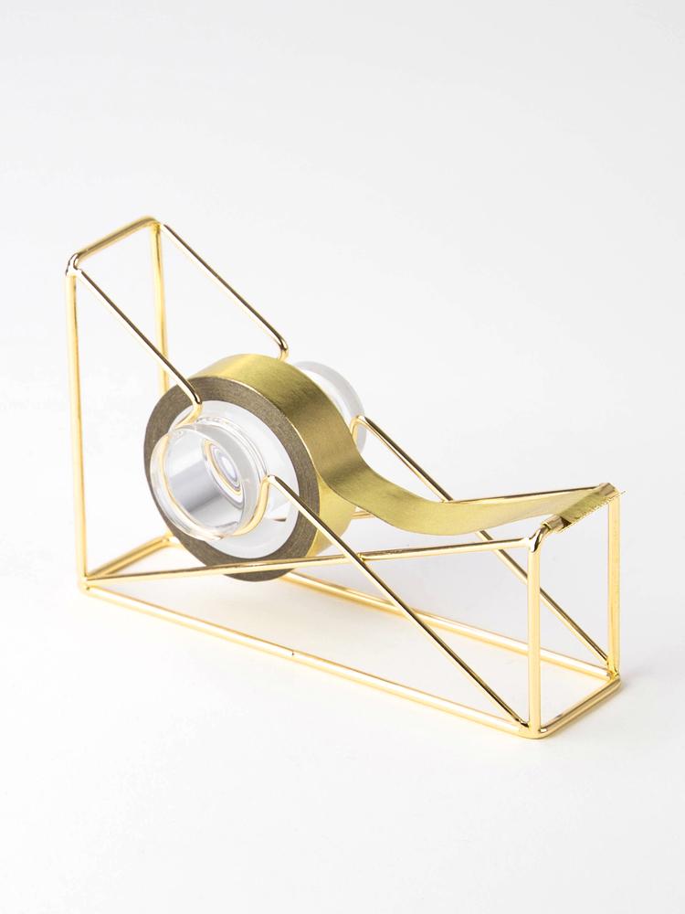 Wire Tape Dispenser Gold U Brands