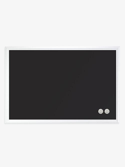 magnetic chalkboard white wood frame 20 x 30 u brands