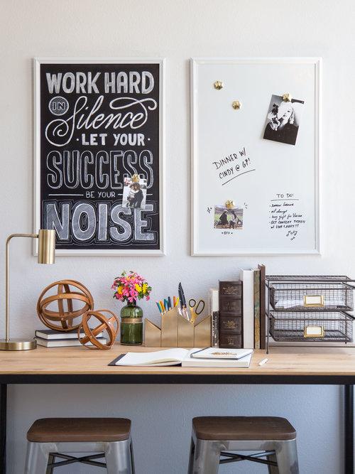 Magnetic Dry Erase Board, White Wood Frame, 20\