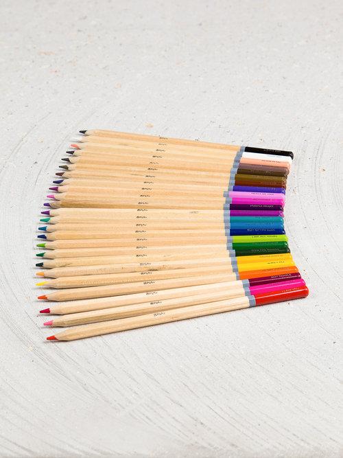 colored pencils 24 count u brands